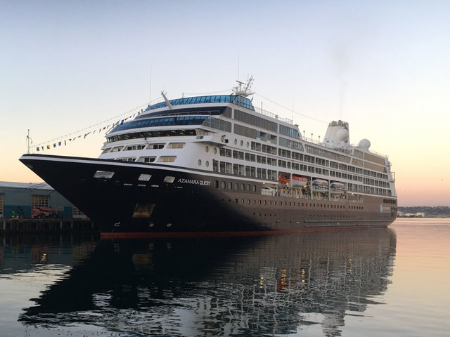 24 People Get Sick Aboard a Cruise Ship That Arrived in San Diego