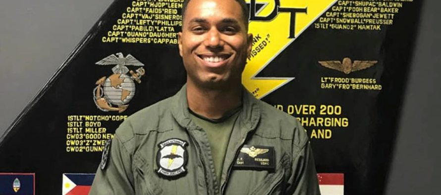 A 28 Year Old Fighter Pilot and Native of Florida Died on the Coast of Japan