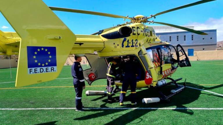 A Minor in Serious Condition After An Accident at Sea