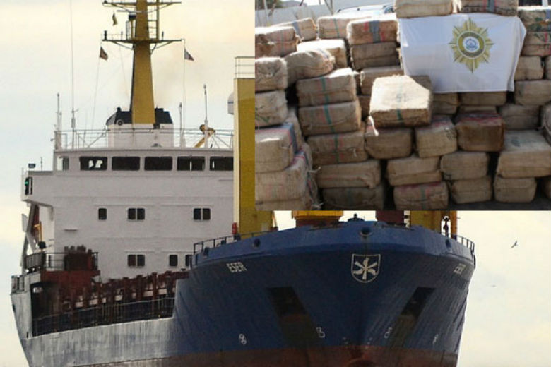 A Panamanian Ship Arrives in Cape Verde with 9,570 Kilos of Cocaine and 2 Dead Crew Members