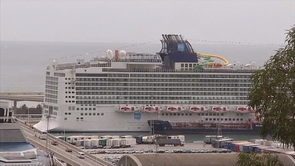 A South Korean Woman Missing After Falling From A Cruise Into The Mediterranean Sea