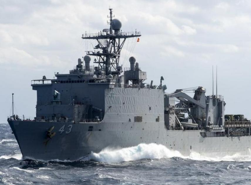 A Strange Virus Leaves a US Navy Warship in Quarantine for 2 Months