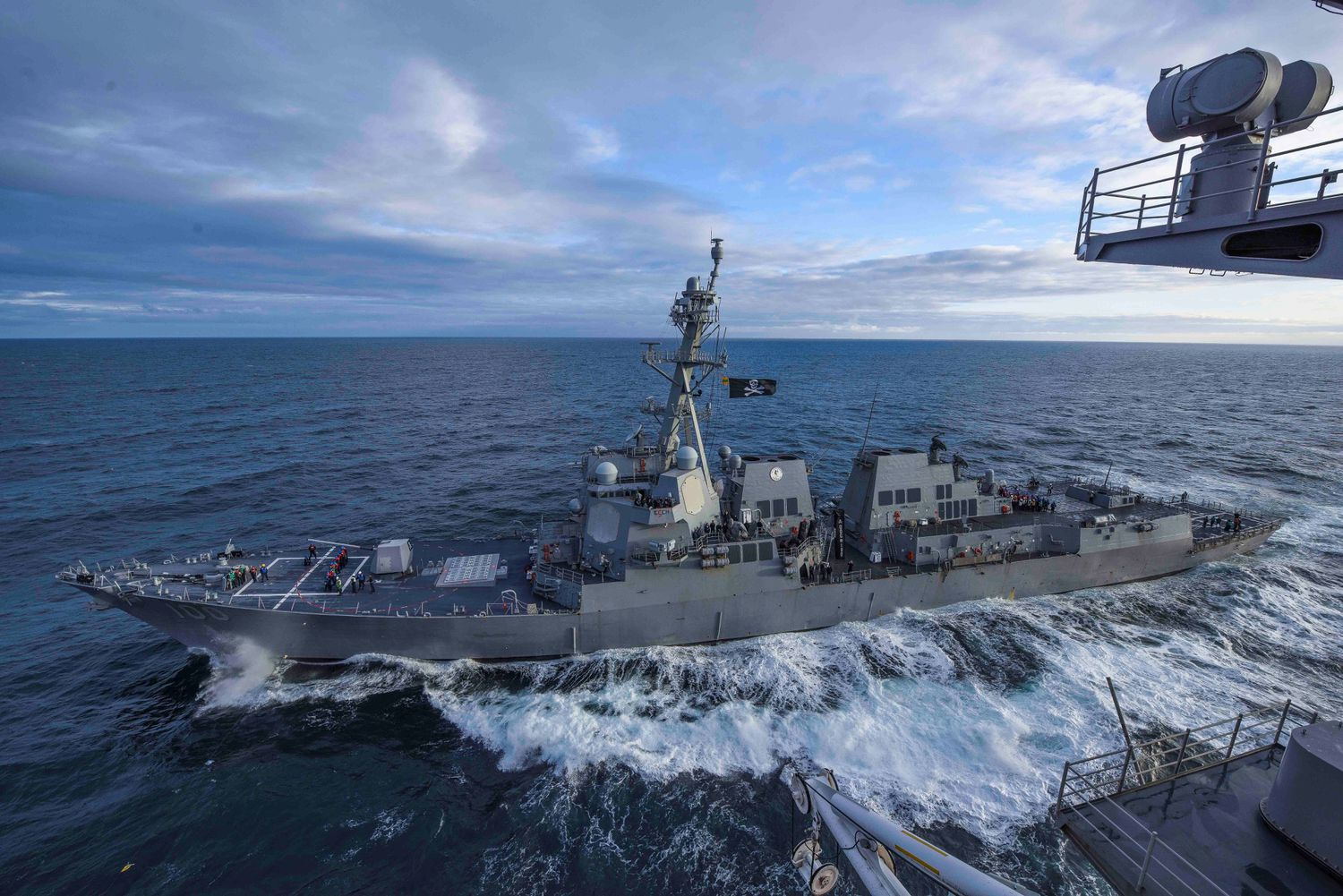 A second United States Navy ship records 47 cases of coronavirus