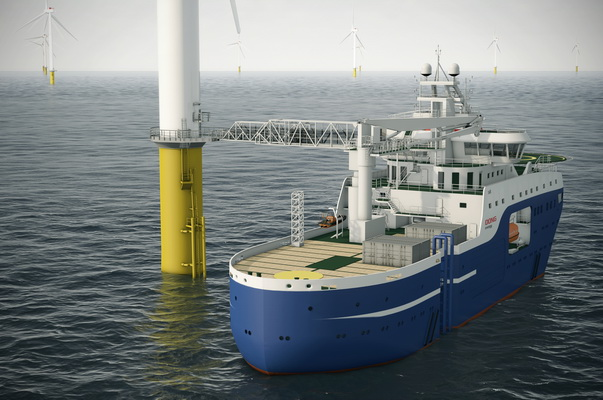 ABB Equips a Service Vessel for the World's Largest Wind Farm