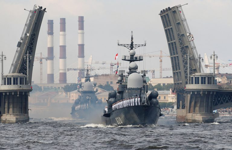 ARMED FORCES OF RUSSIA AND INDIA STARTED THE NAVAL MANEUVERS CALLED INDRA NAVY-18