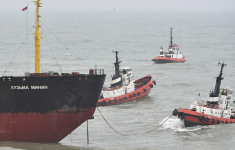 Arrested in the United Kingdom the Russian ship Kuzma Minin