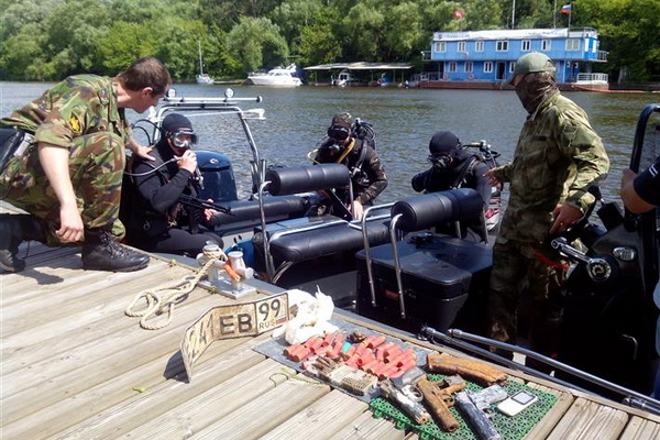 Black Sea Fleet Divers Will Conduct Underwater Firing