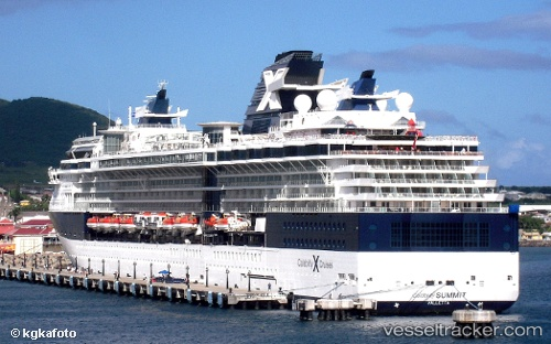 Celebrity Summit Cruise Arrives In Portland With Passenger - Summit cruise ship