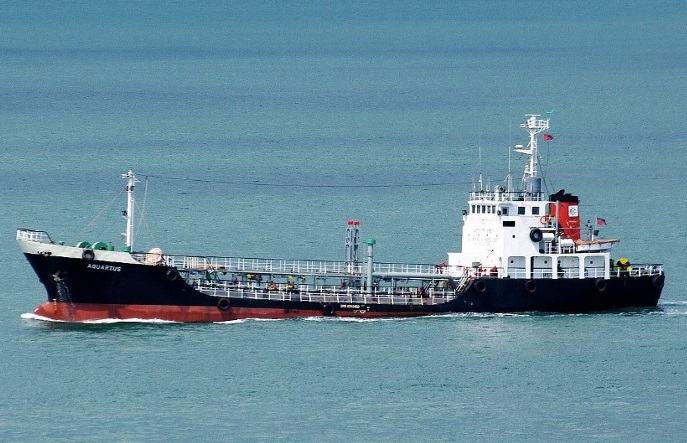 Chemical tanker Aquarius sank after explosion in Singapore Strait