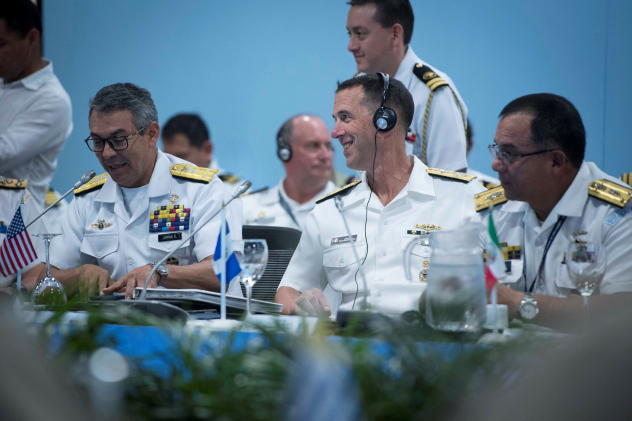 Chief of the US Navy UU Strengthens Alliances in Latin America