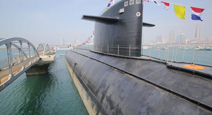 China Exposes Its First Nuclear Submarine As Part Of A Museum