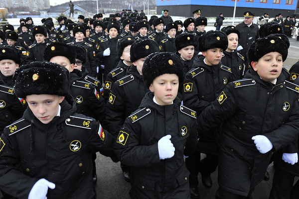 Competition in naval schools of the Russian Federation returned to the Soviet level