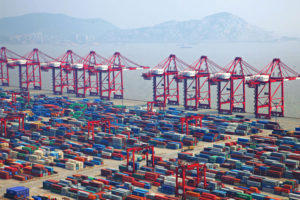 Container port China