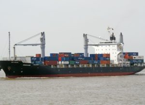 Container ship Windhoek