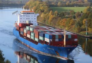 Container ship Wiybelsum