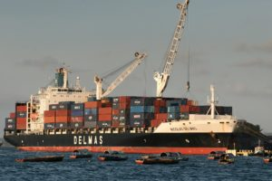 Container ship alliance