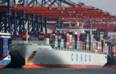 Container turnover of Cosco Shipping Ports rose by 7.5% in Q1 2017