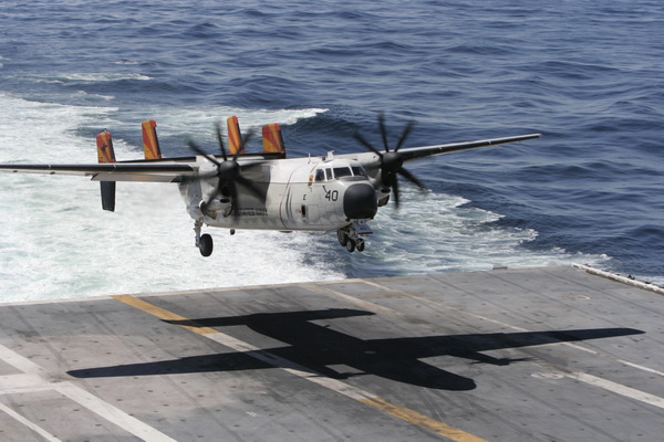 Crashed US Navy Aircraft