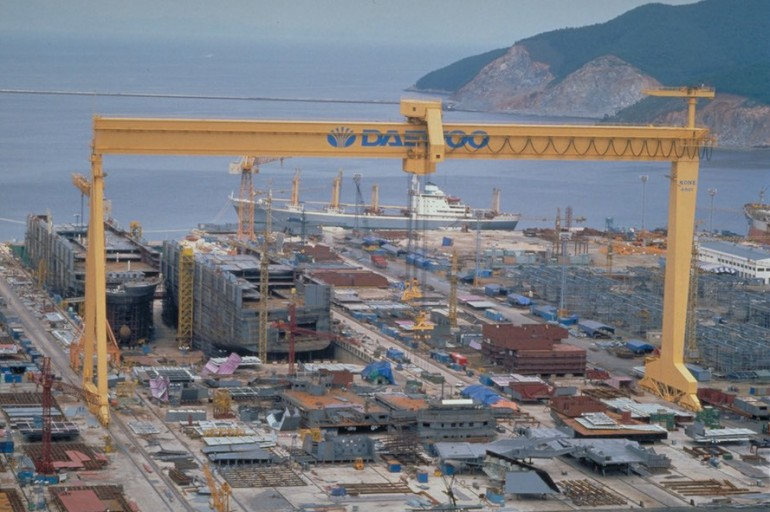 Daewoo Shipbuilding & Marine Engineering faces bankruptcy in