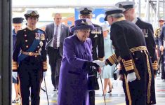 """Elizabeth II Attended the Ceremony of """"Baptism"""" of Britain's Largest Aircraft Carrier"""
