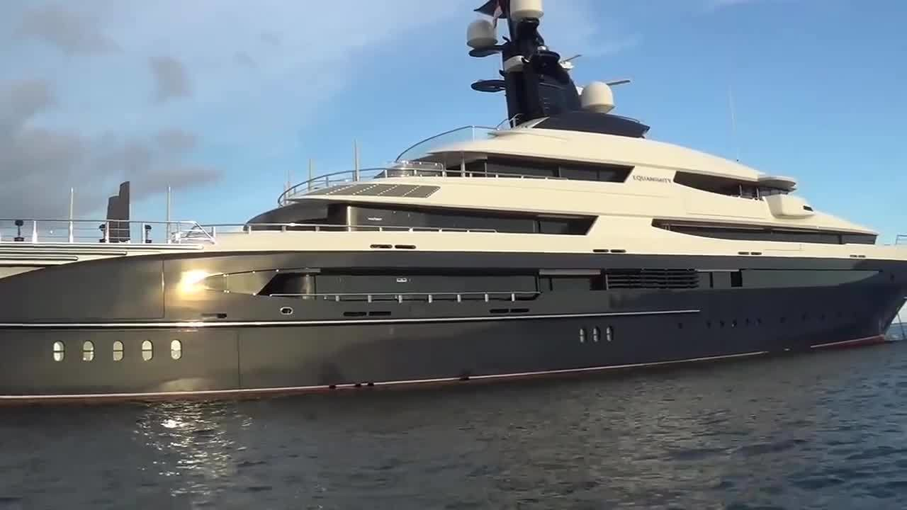 Equanimity Mega Yacht That Was Confiscated By A Corruption Plot