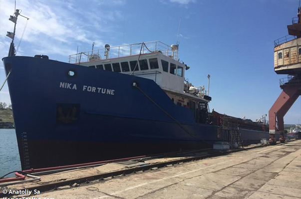 Evil Fortune of the Crew of the Ship Nika Fortune