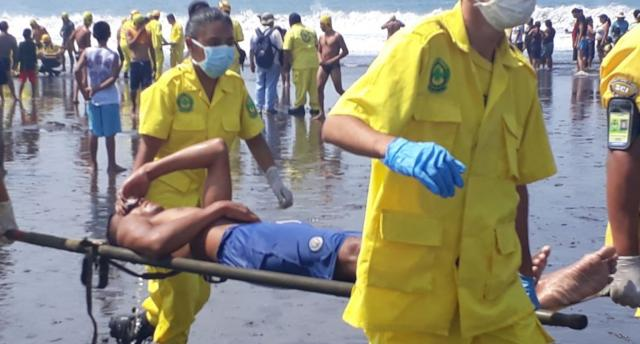 FAES carry out a drill in Playa El Majahual
