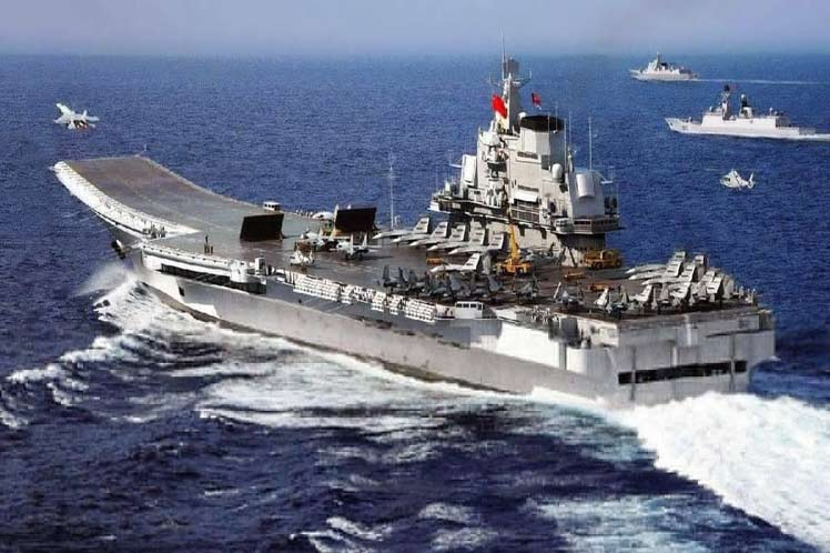 First Chinese Aircraft Carrier Improves Combat Capability