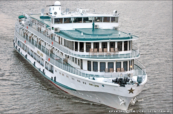 Foreigners Choose Cruises Along the Rivers of Russia