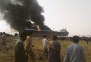 Gadani ship-breaking yard explosion