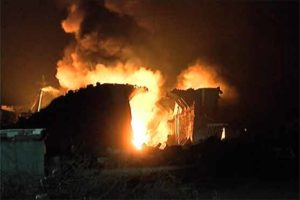 Gadani Ship-breaking Yard Fire
