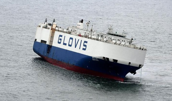 Car Carrier Glovis Corona Developed Heavy List To Port Board During
