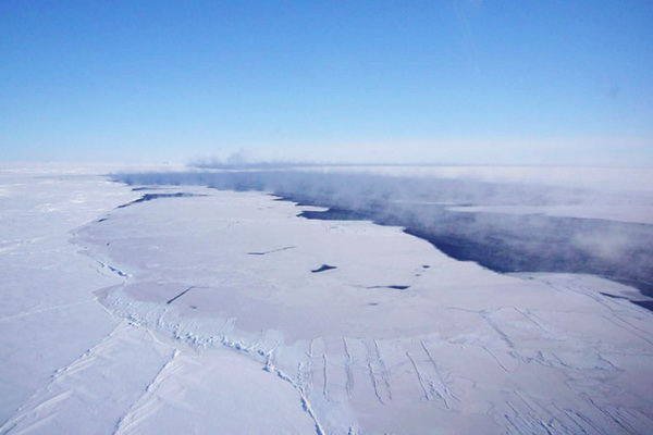 In Antarctica there was a mysterious giant hole
