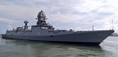 India and Singapore carry out naval exercise in South China sea