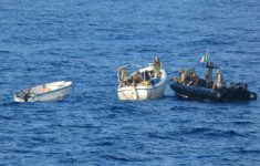 Italian Marines Detain Six Suspected Pirates