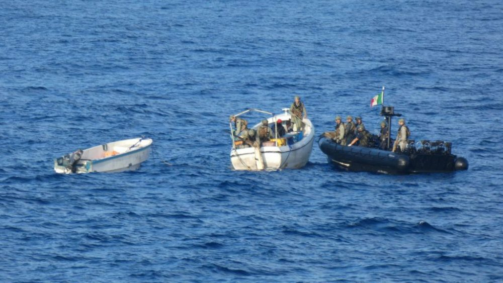 Italian Marines Suspected Pirates