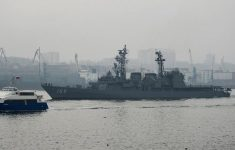 Ship of Japan's Marine Self-Defense Forces arrives in Vladivostok