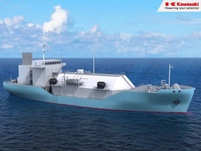 Japan's First LNG Supply Vessel Will Start Operating by the End of 2020