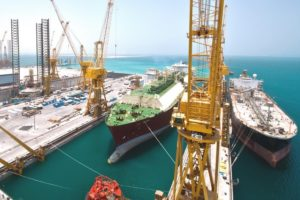 Keppel Offshore and Marine shipbuilding