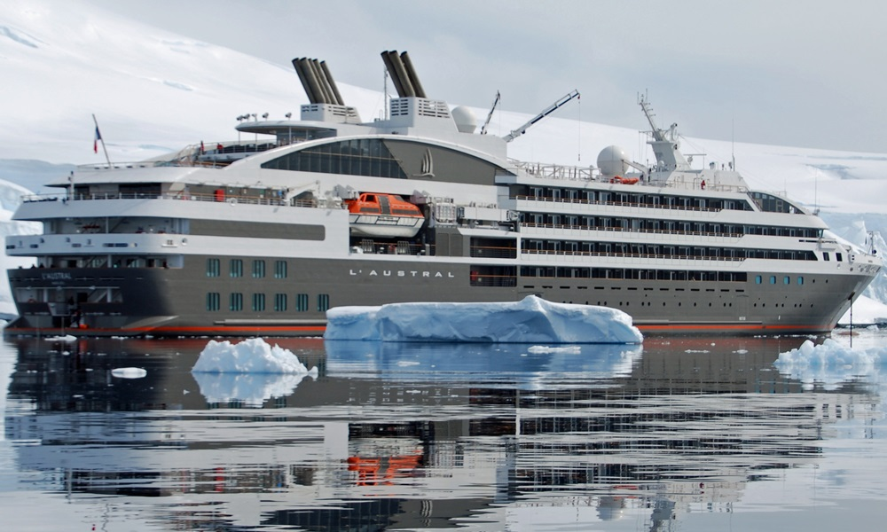 French cruise company Ponant has been fined