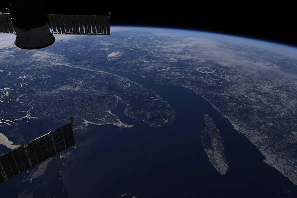 Looking at the Majestic St. Lawrence River from Space