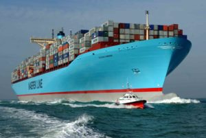 Maersk Line  vessel container