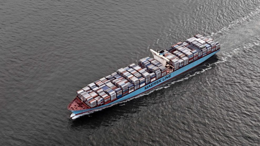 Maersk Places in 30% of the Merchandise without Insurance Transported by Sea