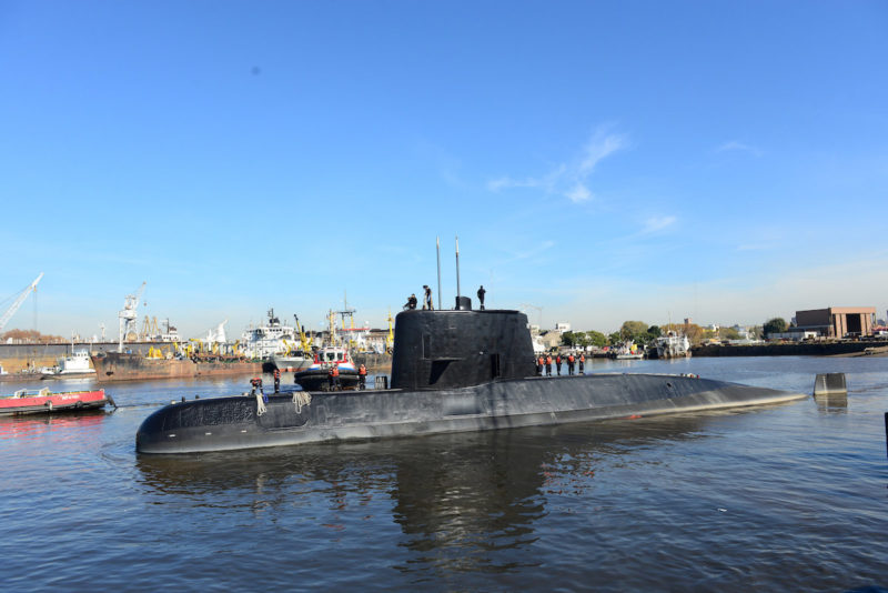 Missing Argentine Military Submarine