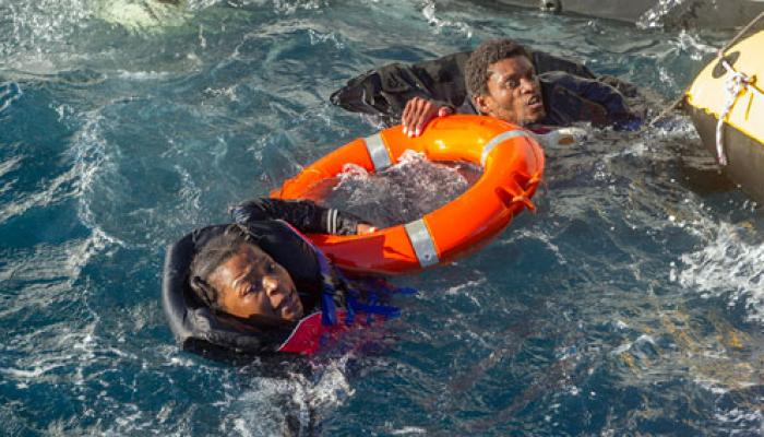 More Rescue of Immigrants in the Mediterranean