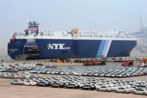 NYK car carrier