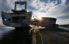 Joint Base Charleston Gears Up for More Puerto Rico Relief; Military Ship to Deliver 11,000 Tons of Aid