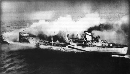 Nazi Ship Sunk in World War II That is anEcological Time Bomb