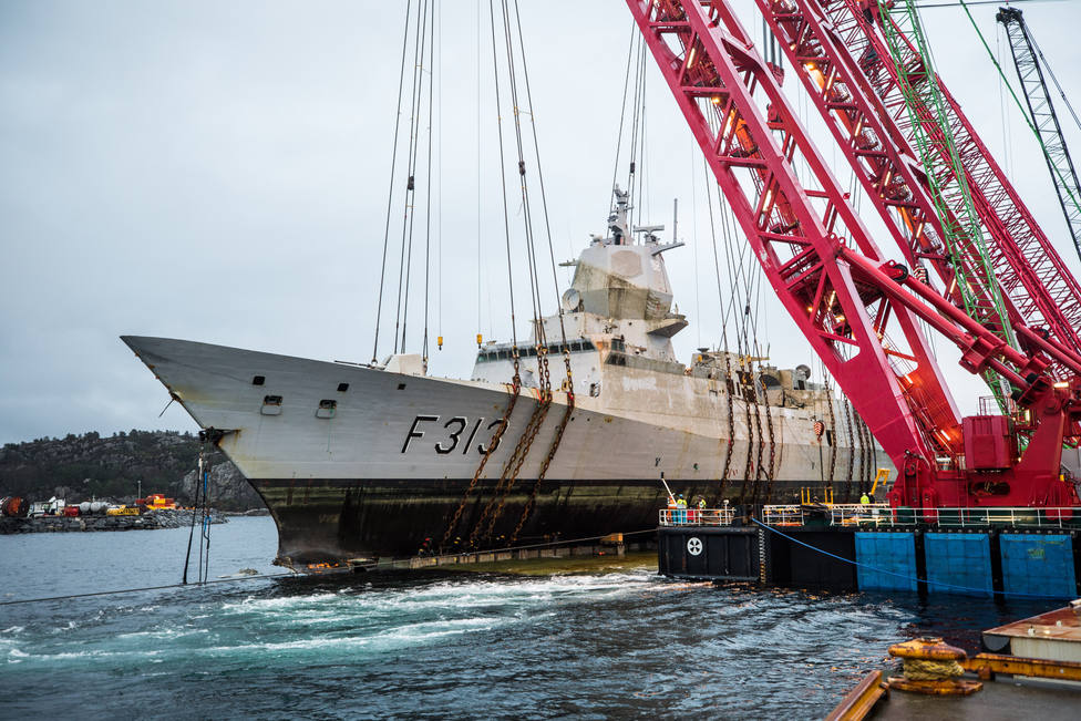 Norway Concludes That Repairing The Sunken Frigate Would Be More Expensive Than Making A New One