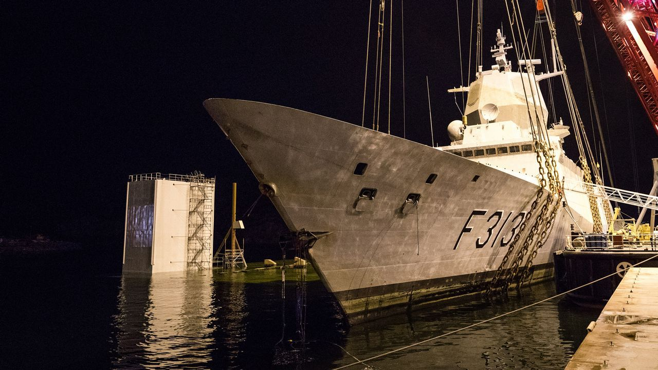Norway Recreated the Helge Ingstad Accident with Another of its Five Frigates Built in Ferrol